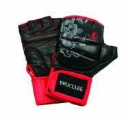 Boxerské rukavice Bruce Lee Dragon Deluxe MMA Grappling Gloves, vel. L