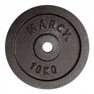 Marcy kotouč Plate Black 10.0kg, Single