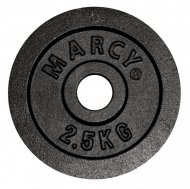 Marcy Plates Black 2.5kg, Pair